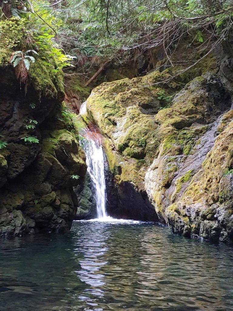 Sproat Lake Waterfalls